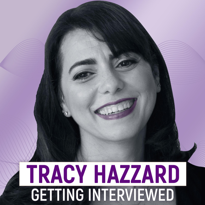 Tracy Hazzard Getting Interviewed